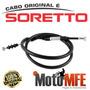 Cabo De Embreagem Original Soretto Ybr 125 Factor Ed/ek 2009