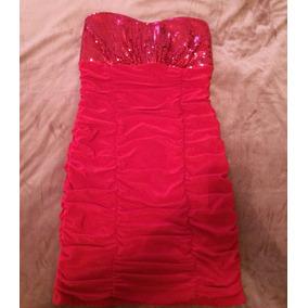Vestido De Fiesta Rojo, Seminuevo
