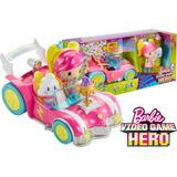 Auto Barbie Video Game Hero, Pelicula 2017, Mattel