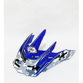 Pala Aba Visor Capacete Thh Tx22 Azul Motocross Trilha