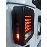 Calaveras Led Jeep Wrangler Jk Sahara Rubicon 07- Actual