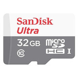 Cartao Sandisk Micro Sdhc Ultra 80mb/s 32gb Sd Gopro Hero 4