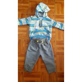 3 Buzos-ropa Niño Bebé De 3 / 6 Y 9 Meses