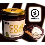 Crema De Coco Y Cacao - Vegano - Libre De Gluten - 330g