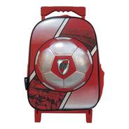 Mochila River Plate Carro Carrito Escolar 12 Plg Licencia Of