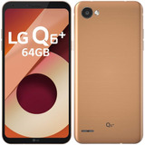 Smartphone Lg Q6 Plus Dual Chip, Rose Gold, Tela 5.5 , 64gb