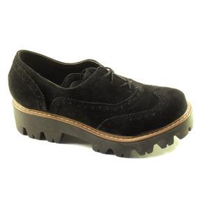 Acordonado Picado Base Tractor Zapatos Mujer Sneakers 290