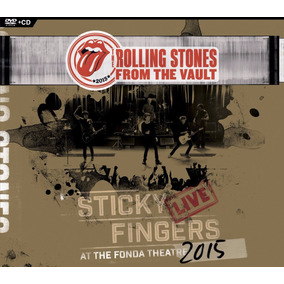 Rolling Stones From The Vault Sticky Fingers Live Cd + Dvd