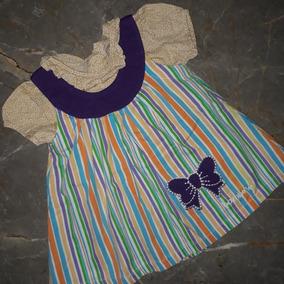 Lindo Conjunto De Vestido Y Blusa Para Niña Bebé