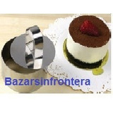 Molde Acero Mini Torta Mousse Reposteria-bazarsinfrontera