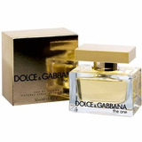 Perfume The One Edp Feminino 50 Ml Dolce & Gabanna -original