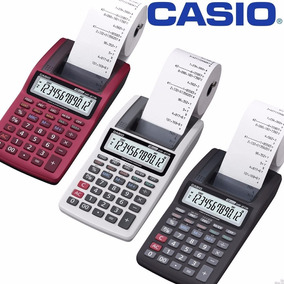 Calculadora C/ Bobina 12 Dígitos Hr-8 Rc Bk - Casio