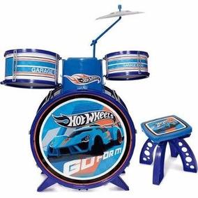Bateria Radical Infantil Hot Wheels 3848 Fun Nf