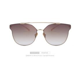 Óculos Espelhado Feminino Olho De Gato Gatinho Marrys Marrom a3af7b69f3