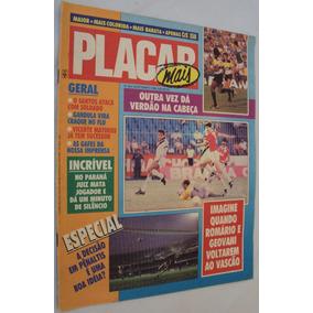 Placar 954 1988 Campeonato Br; Poster Palmeiras