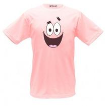 Camiseta Patrick Bob Esponja - Camisa, Boneco