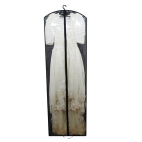 Capa Para Vestido De Noiva Frente Transparente - Com Lateral