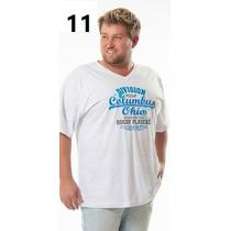 Camiseta Tamanho Grande G2 G3 Excelente Qualidade Plus Size