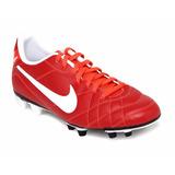 Zapato Futbol Tachones Nike Tiempo Rio Fg Rojo