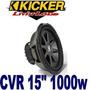 Bajo Kicker Cvr De 15 Pulgadas Doble Bobina 1000 Watts