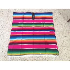 Saltillo Artesanal Tipo Poncho Diferentes Colores