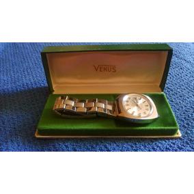 Reloj Suizo Venus Automático, Incabloc, Nuevo. C/estuche