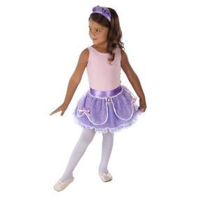 Disfraz Tutú De Princesa Sofía Para Niña Talla Única
