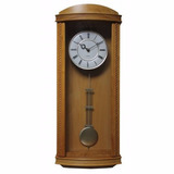 Reloj De Pared Tipo Antiguo De Madera Con Pendulo Musical
