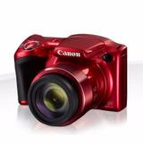 Cámara Canon Powershot Sx420 20 Mpx Zoom 42x Lcd 3 Pul. Roja