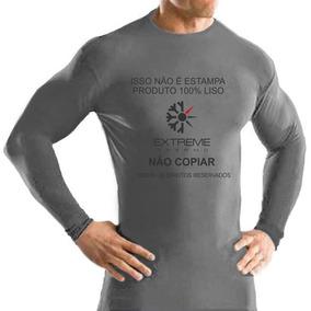 Camisa Térmica Segunda Pele Extreme Frio Moderado Prot Uv