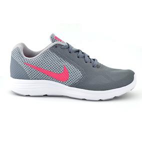 Tenis Nike Para Dama 819303-022 Gris [nik1820]