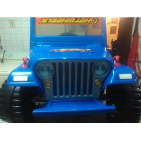Jeep Juguete Renegade Hot Wheels Electrico A Bateria