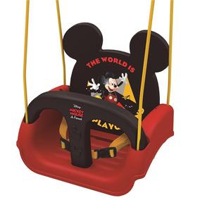 Balanço Infantil Xalingo Mickey Com Encosto Regulável