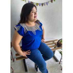 Blusa Bordada Artesanal