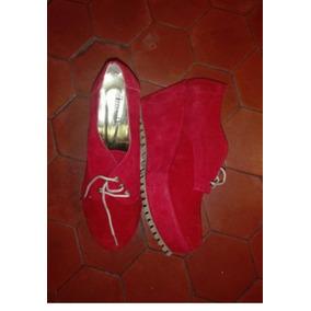 Zapatos Con Taco Chino Rojos 40