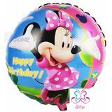 Globo Metalizado Minnie Mouse, Mickey, Disney Mini 45 Cm