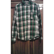 Camisa Manga Larga Pull And Bear Talla S Original Y Nueva