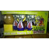 Plantas Vs Zombies - Juego De Bolos - Plants Vs Zombies