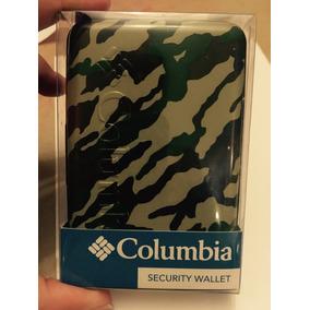 Cartera Billetera Seguridad Tarjetas Caballero Columbia