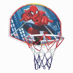 Tabela De Basquete + Bola Spider Man - Homem Aranha - Lider