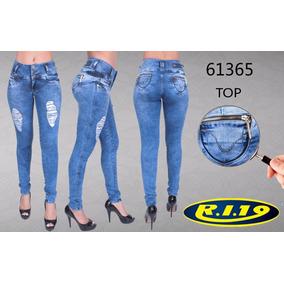 Calça Jeans Feminina Ri19 Top