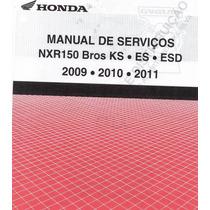 Manual Serviço Pdf Moto Honda - Nxr 150 Bros Ks.es.esd