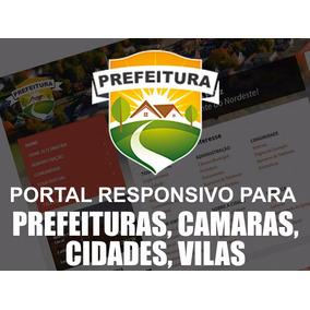 Site Para Prefeitura Completo - Tema Wp Camara Vereadores