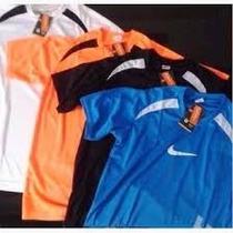 Camisas Camiseta Nike Adidas Dry Fit Academia. Kit 10 Unid.
