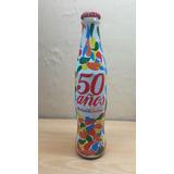 Coca Cola Coke Botella Conmemorativa 50 Años Nueva