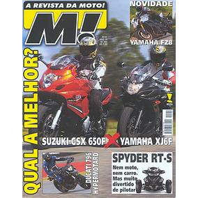 Moto.186 Jun10- Yamaxj6f Suzu650 Bmw1200 Crf450 Ducati Fz8