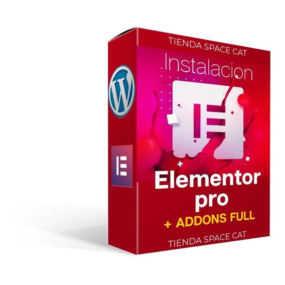 Instalacion Wordpress Elementor Pro Ilimitado + Actualizac.