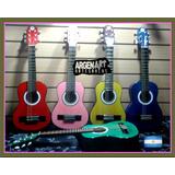 Guitarra Niño Criolla Envios C/ Funda 2 A 7 Años