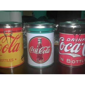 Latas De Coca-cola Coleccionables 3 Modelos Diferentes!