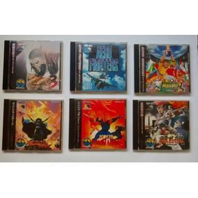 Lote Com 6 Jogos - Neo Geo Cd - Originais - Funcionando